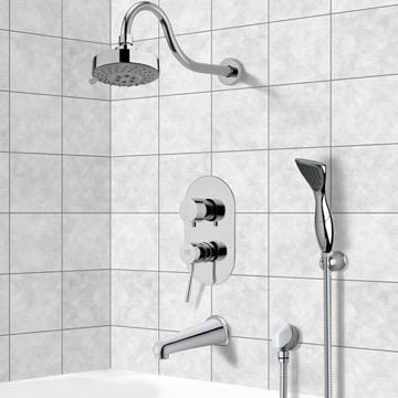 Tub and Shower Faucet, Remer TSH4108
