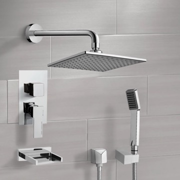 Tub and Shower Faucet, Remer TSH4111