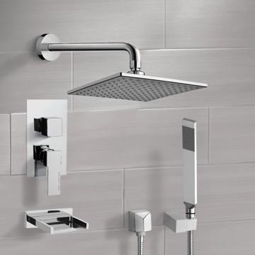 Tub and Shower Faucet, Remer TSH4112