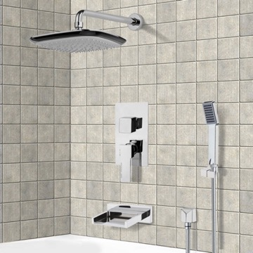 Tub and Shower Faucet, Remer TSH4116