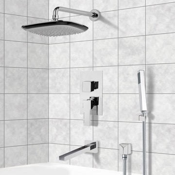 Tub and Shower Faucet, Remer TSH4134