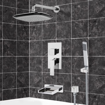Tub and Shower Faucet, Remer TSH4135