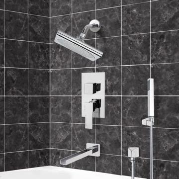 Tub and Shower Faucet, Remer TSH4195