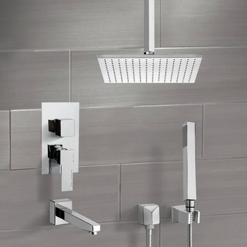 Tub and Shower Faucet, Remer TSH4507