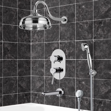 Tub and Shower Faucet, Remer TSH4526