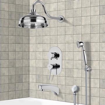 Tub and Shower Faucet, Remer TSH4527