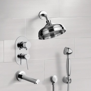 Tub and Shower Faucet, Remer TSH4528