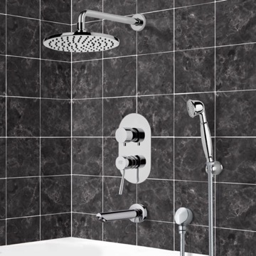 Tub and Shower Faucet, Remer TSH4537