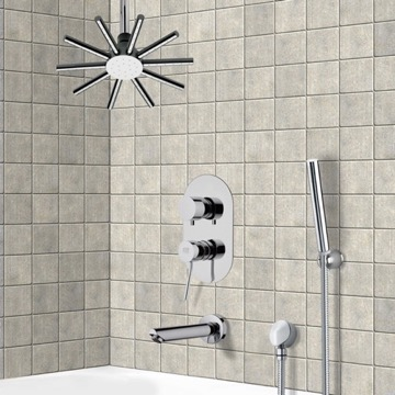 Tub and Shower Faucet, Remer TSH4540