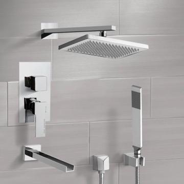 Tub and Shower Faucet, Remer TSH4543