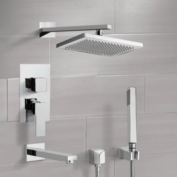 Tub and Shower Faucet, Remer TSH4544