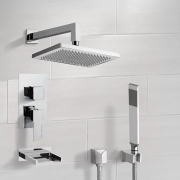 Tub and Shower Faucet, Remer TSH4545