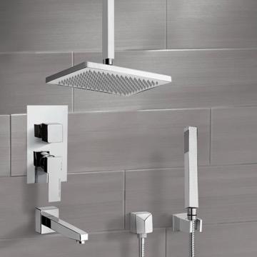 Tub and Shower Faucet, Remer TSH4546