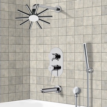 Tub and Shower Faucet, Remer TSH4548