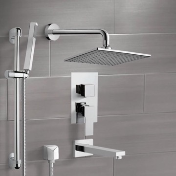 Tub and Shower Faucet, Remer TSR02