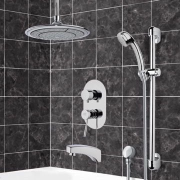 Tub and Shower Faucet, Remer TSR9003