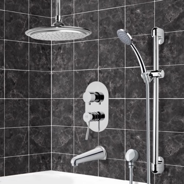 Tub and Shower Faucet, Remer TSR9008