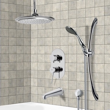 Tub and Shower Faucet, Remer TSR9009