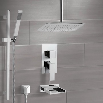Tub and Shower Faucet, Remer TSR9018