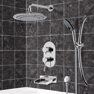 Tub and Shower Faucet, Remer TSR9039