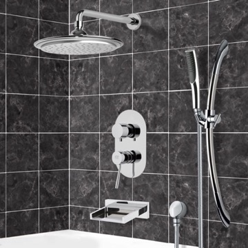 Tub and Shower Faucet, Remer TSR9043