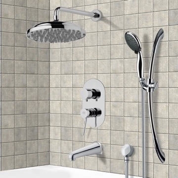Tub and Shower Faucet, Remer TSR9052
