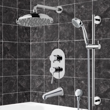 Tub and Shower Faucet, Remer TSR9053