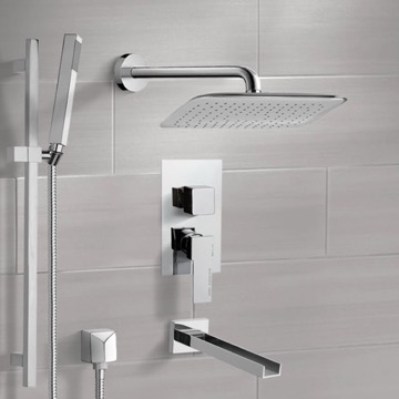 Tub and Shower Faucet, Remer TSR9055