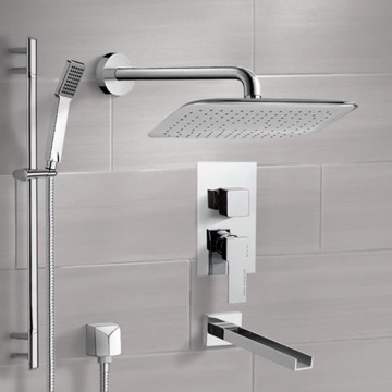 Tub and Shower Faucet, Remer TSR9056