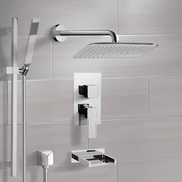 Tub and Shower Faucet, Remer TSR9057