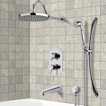 Tub and Shower Faucet, Remer TSR9058