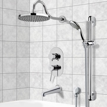 Tub and Shower Faucet, Remer TSR9064