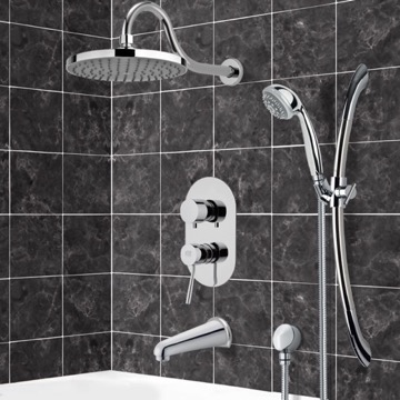 Tub and Shower Faucet, Remer TSR9065