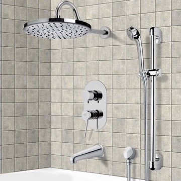 Tub and Shower Faucet, Remer TSR9079