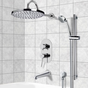 Tub and Shower Faucet, Remer TSR9080