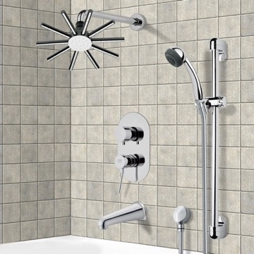 Tub and Shower Faucet, Remer TSR9086