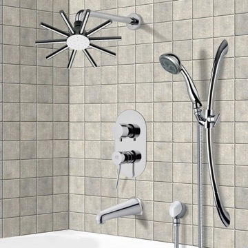 Tub and Shower Faucet, Remer TSR9087