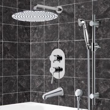 Tub and Shower Faucet, Remer TSR9090