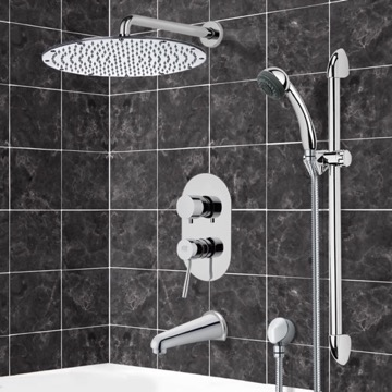 Tub and Shower Faucet, Remer TSR9091