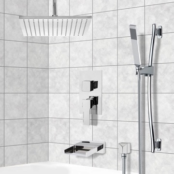 Tub and Shower Faucet, Remer TSR9098
