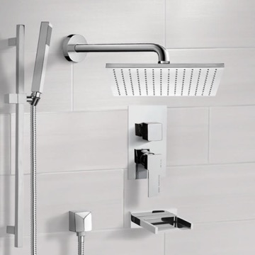 Tub and Shower Faucet, Remer TSR9099