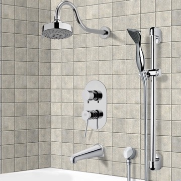 Tub and Shower Faucet, Remer TSR9108