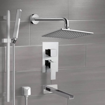 Tub and Shower Faucet, Remer TSR9110