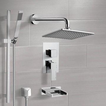 Tub and Shower Faucet, Remer TSR9112