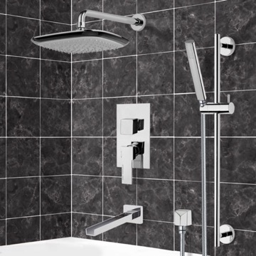 Tub and Shower Faucet, Remer TSR9113