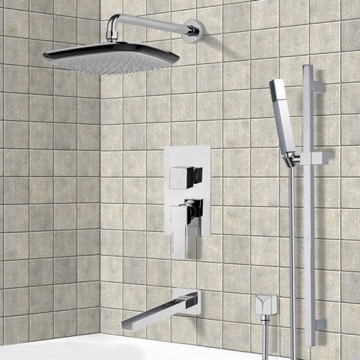Tub and Shower Faucet, Remer TSR9114