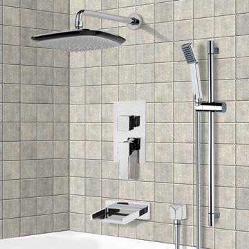 Tub and Shower Faucet, Remer TSR9116