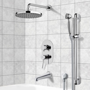 Tub and Shower Faucet, Remer TSR9141