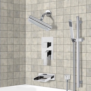 Tub and Shower Faucet, Remer TSR9193