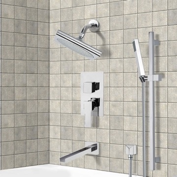 Tub and Shower Faucet, Remer TSR9195